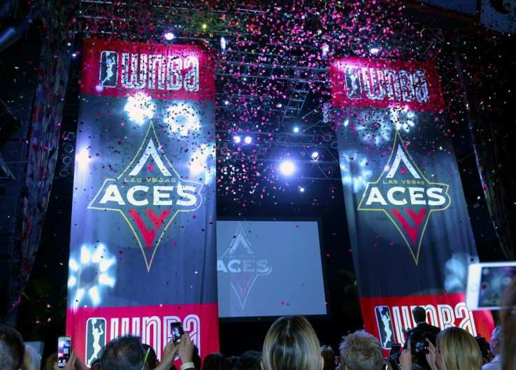Las Vegas Aces Reveal Their Name & Logo at House of Blues in Mandalay Bay