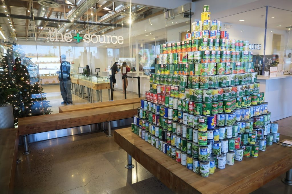 The+Source Holiday Food Drive