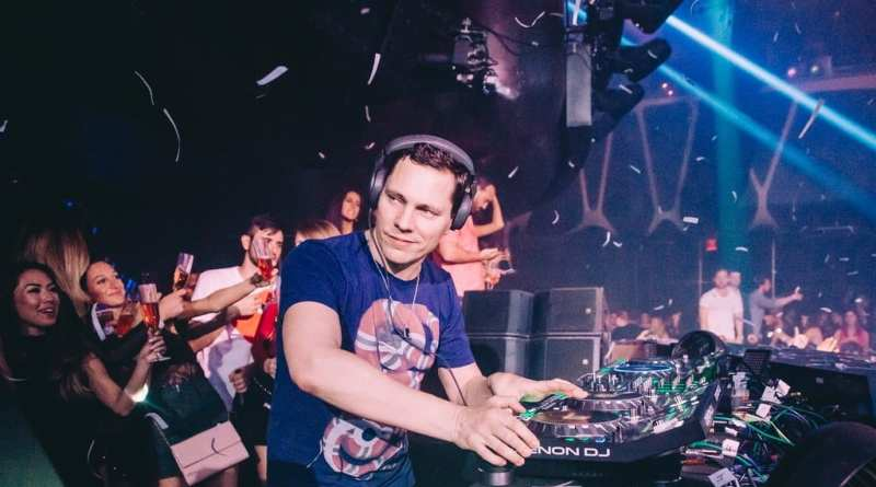 Tiesto at Hakkasan