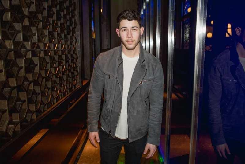 Nick Jonas at Hakkasan Las Vegas Restaurant