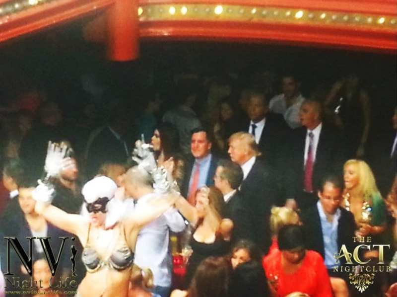 Donald Trump at The Act Nightclub
