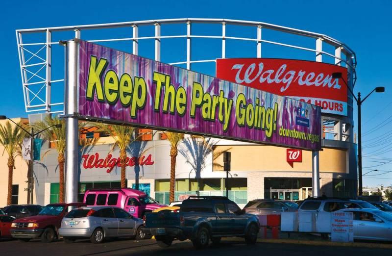 Las Vegas Banner Sign - Las Vegas Weekly