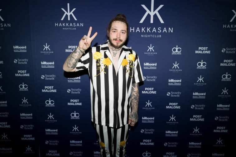 Post Malone at Hakkasan - Photo credit Mike Kirschbaum