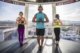 Yoga on the High Roller