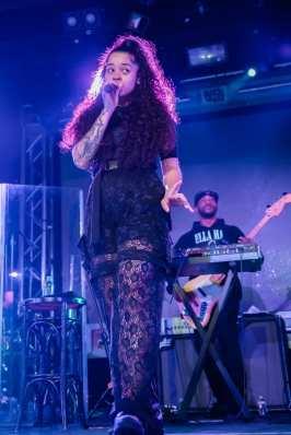 Ella Mai at Vinyl Inside Hard Rock Hotel & Casino