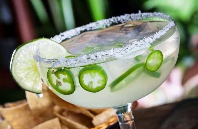 Pancho's Jalapeño Margarita