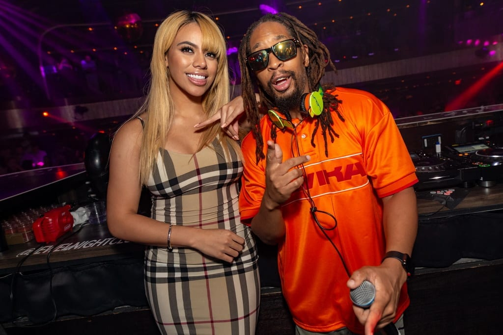 Dinah Jane celebrates the release of her new single Bottled Up with Lil Jon at JEWEL Nightclub inside Aria Resort & Casino on Sept. 22_ Photo Credit Sam Hamoui