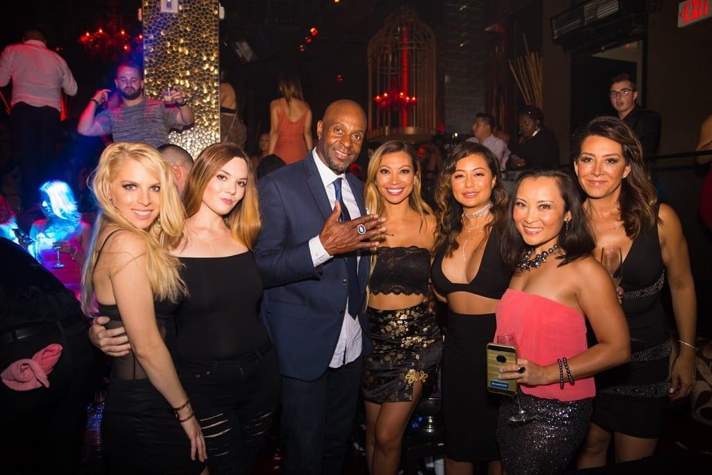 Jerry Rice at TAO Nightclub