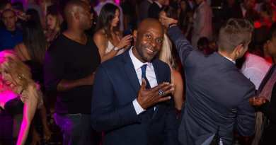 Jerry Rice at TAO Nightclub