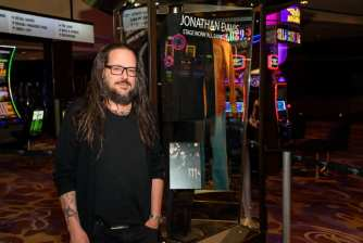 Jonathan Davis At Hard Rock Hotel