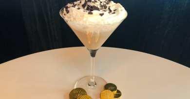MB Steak - Hanukkah Gelt Martini