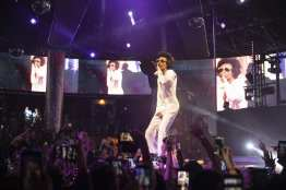 Wiz Khalifa as Elvis Presley at Drai's Nightclub