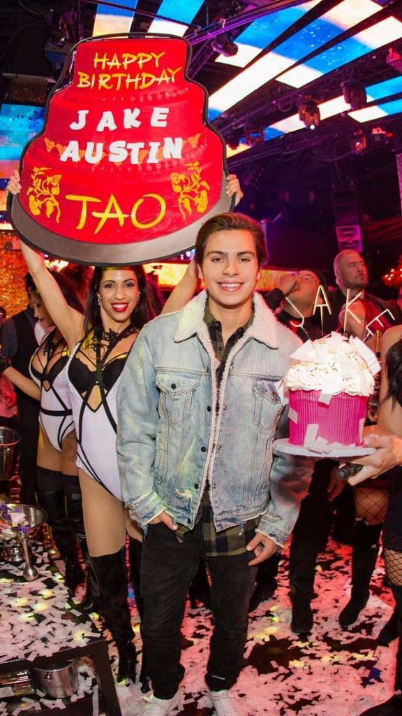 Jake T Austin Birthday Party at TAO Saturday