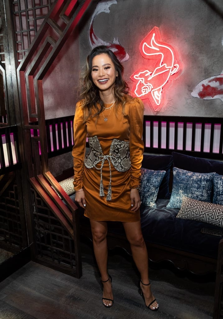 Jamie Chung at the Mott 32 grand opening at The Venetian Resort Las Vegas, 12.28.18_Credit Erik Kabik (2)