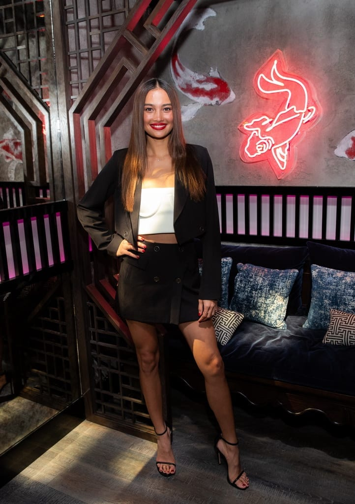 Kelsey Merritt at the Mott 32 grand opening at The Venetian Resort Las Vegas, 12.28.18_Credit Erik Kabik (4)