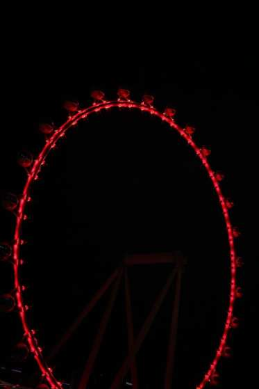 The LINQ Promenade and High Roller Observation Wheel