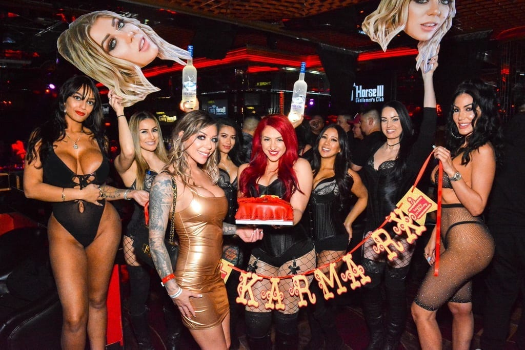 Karma Rx Birthday Photos Inside Crazy Horse 3 in Las Vegas