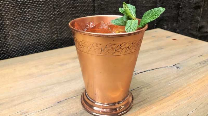 CRUSH's Irish Julep Cocktail