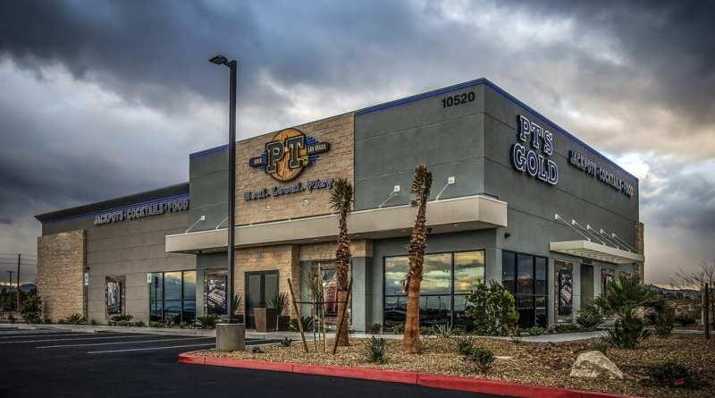 PT's Entertainment Group at Cactus and Las Vegas Blvd
