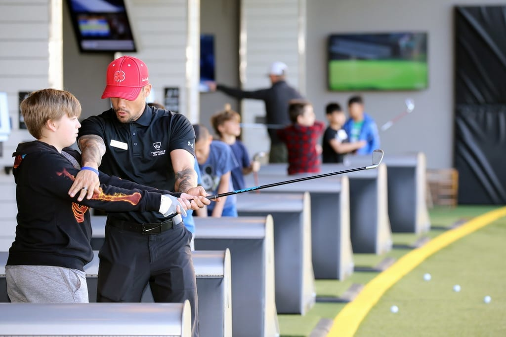 Topgolf Las Vegas Spring Academy's Early Bird Special