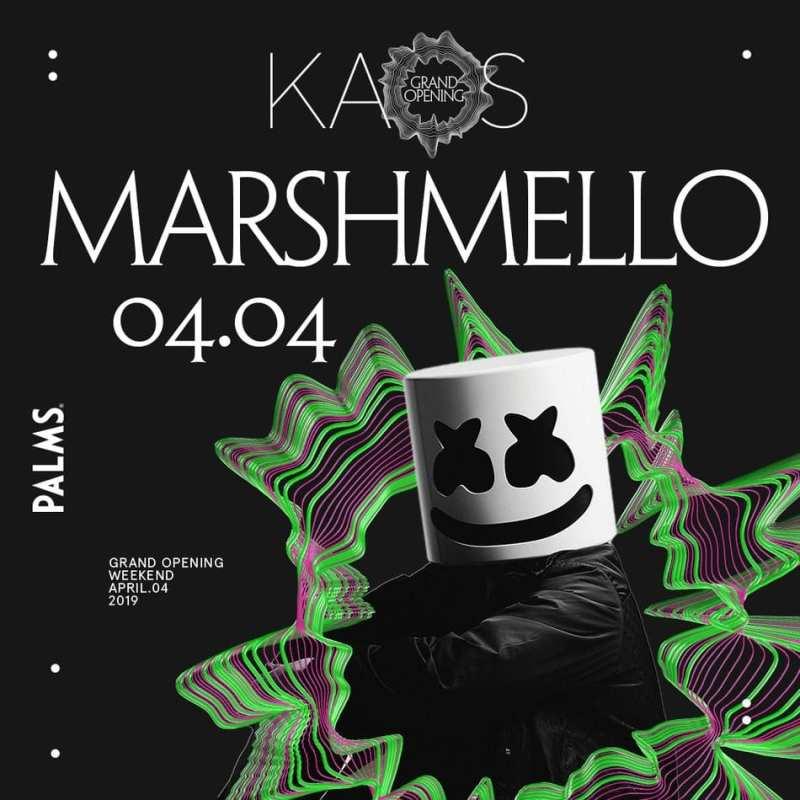 Marshmello at KAOS