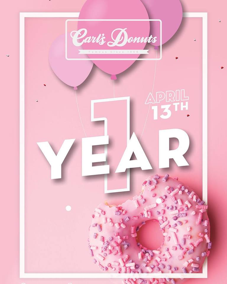 Carl's Donuts - One Year Birthday