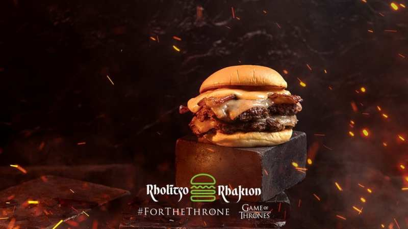 Dracarys Burger at Shake Shack - Game of Thrones