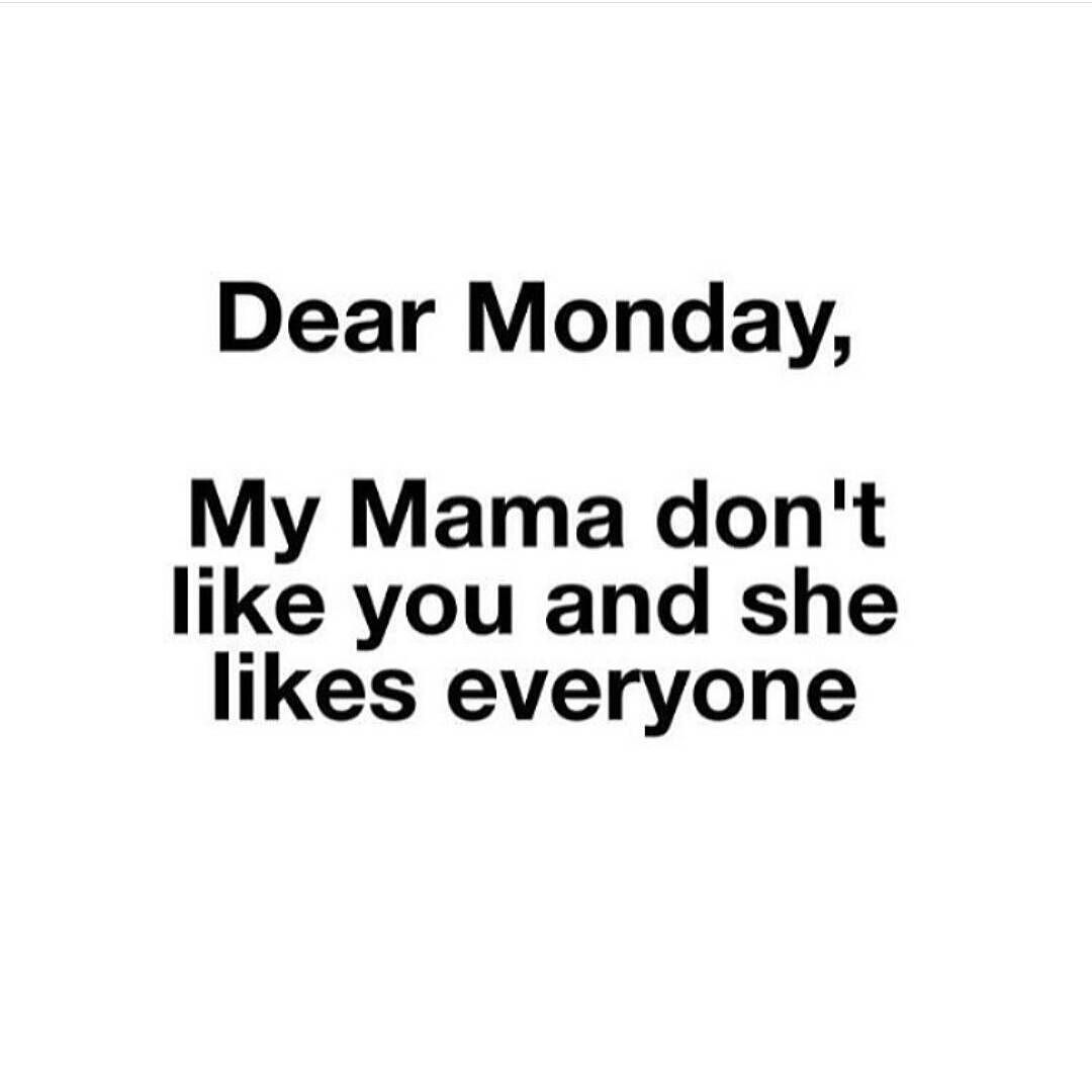 Lol couldn't resist #monday #letsdothis #sorrybeiberfans