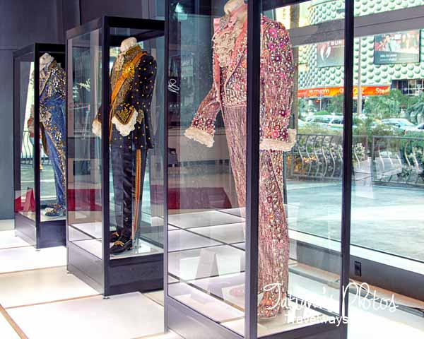Liberace suits at the Cosmopolitan Hotel Exhibit in Las Vegas