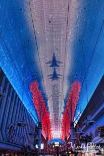 Viva Vison light show on Frenont Street Experience, Las Vegas