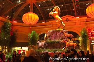 Chinese New Year of the Horse 2014 Bellagio, Las Vegas