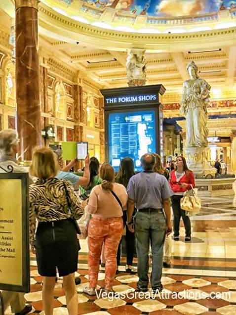 Caesars Forum Shops Directory