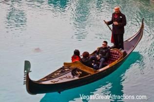 Pictures of Venetian Las Vegas: Authentic Venetian Gondola in Las Vegas