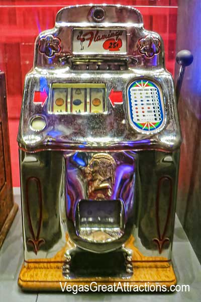 Antique Gambling Machine at Nevada State Museum, Las Vegas