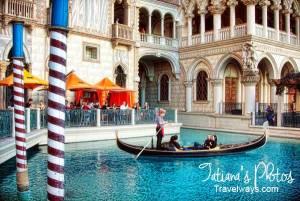 Gondola Ride at Venetian Hotel Las Vegas