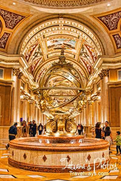 Venetian Hotel Las Vegas Lobby