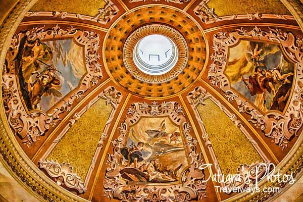 Venetian Hotel Lobby Cupola