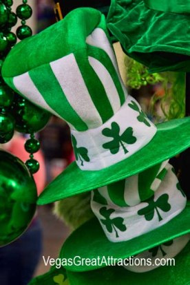 Green things to wear on St. Patrick's Day 2015, Fremont Street Experience