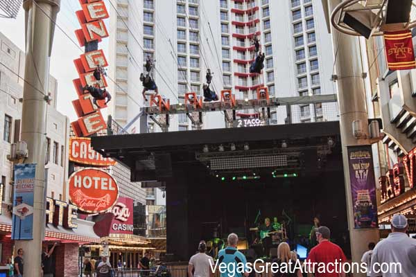 St. Patrick's Day Celebration at Fremont Street Experience