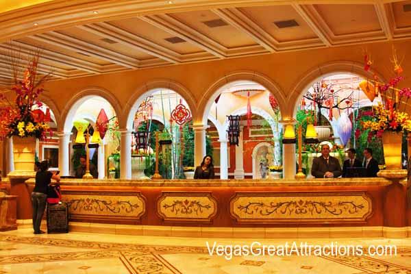 Chinese New Year 2015, Bellagio - Lobby