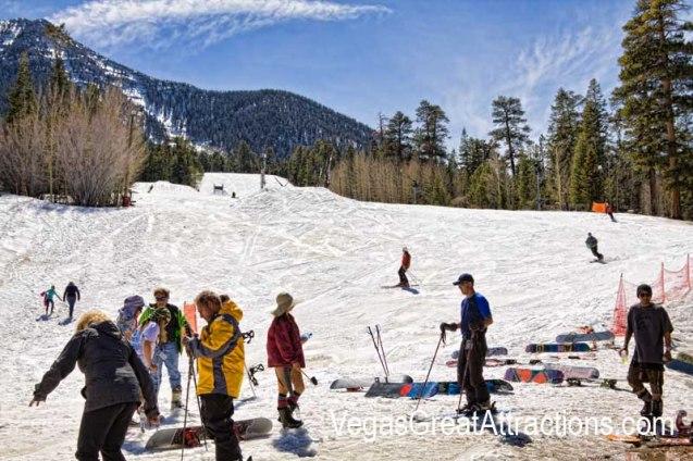 The Ski and Snowboard Resort Las Vegas