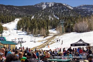 Las Vegas Ski and Snowboard Resort closing party