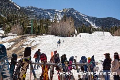 Mt. Charleston ski area in Las Vegas