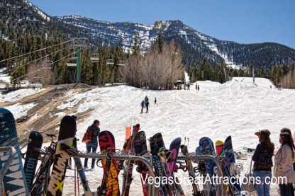 Mt. Charleston ski area in Las Vegas