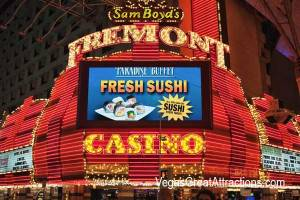 Sam Boyd's Fremont Casino on Fremont Street Experience