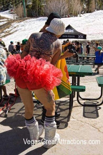 Funny costumes at Mt. Charleston ski area in Las Vegas