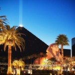 Photo: Luxor Sky Beam in Las Vegas – The Strongest Light Beam in the world