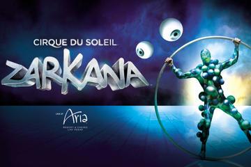 Zarkana by Cirque du Soleil at Aria hotel and casino in Las Vegas