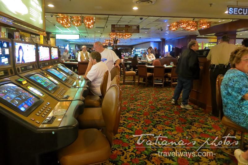 El Cortez Casino inside