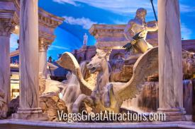 Trevi Fountain at Caesars Palace Forum Shops